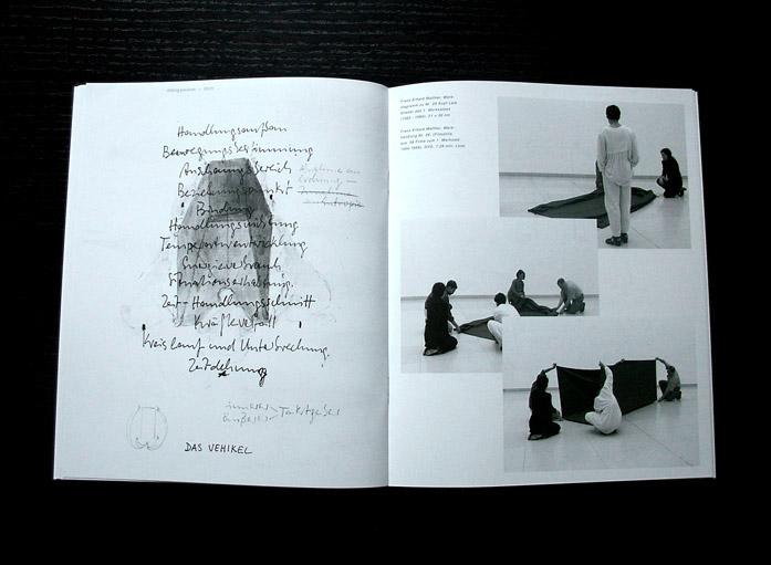 Shifting/Positions — Doppelseite, Katalog